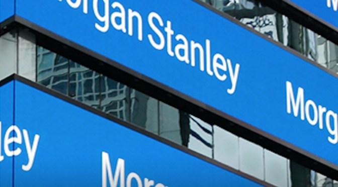 Morgan Stanley supera las estimaciones mientras la negociación récord amortigua el golpe comercial