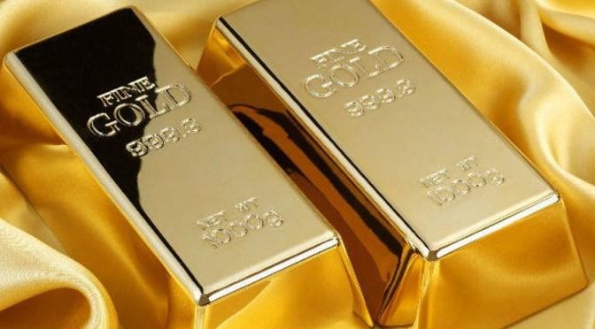 Precios del oro alcanzan máximo de un mes
