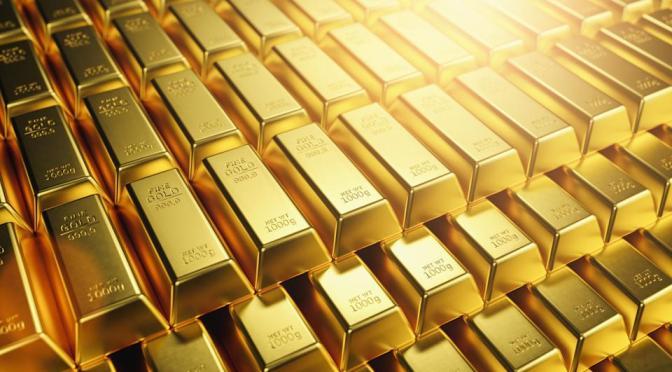 Precios del oro extiende caída a casi dos semanas