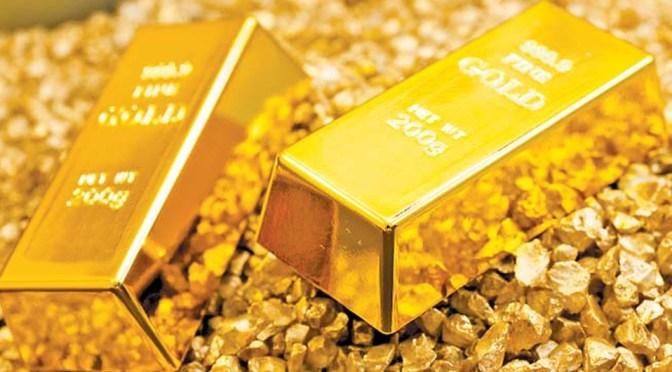 Precios del oro sobrepasan los 1,800 dólares