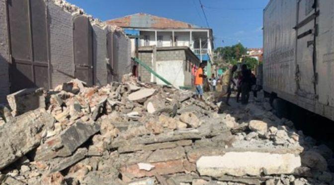 Sismo de magnitud 7.2 golpea Haití
