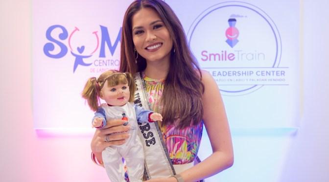 Smile Train y Miss Universo inauguran el primer Centro de Liderazgo de Labio y/o Paladar Hendido de México y del mundo