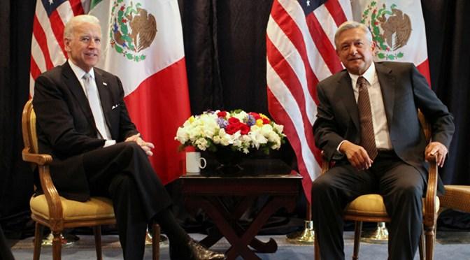 López Obrador invita a Joe Biden a visitar México en septiembre