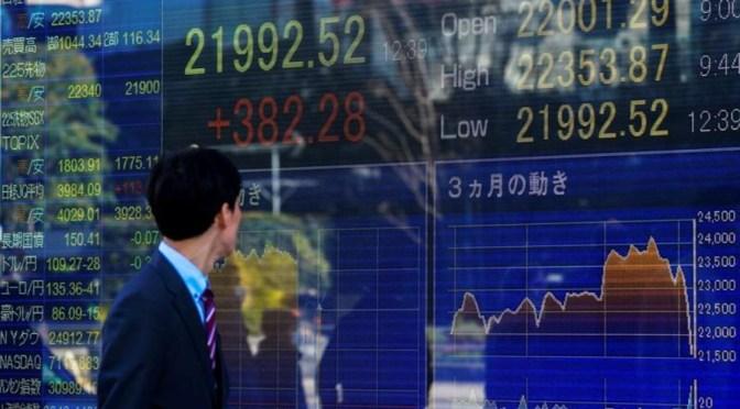 Nikkei termina más bajo a medida que aumentan las preocupaciones por el COVID-19