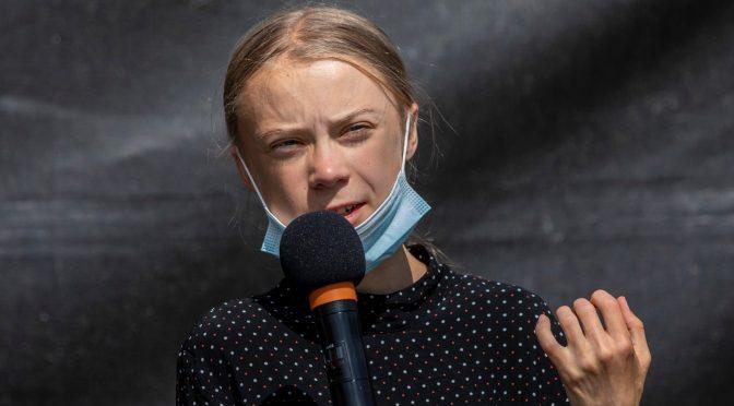 Se necesita una presión pública masiva para galvanizar la lucha contra el clima: Greta Thunberg