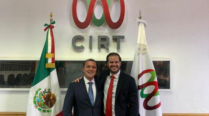 Nombran a José Antonio García Herrera como nuevo presidente del Consejo Directivo de la CIRT