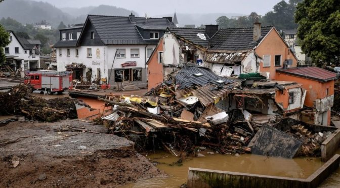 Alemania planea una exención de insolvencia para áreas de desastre de inundaciones