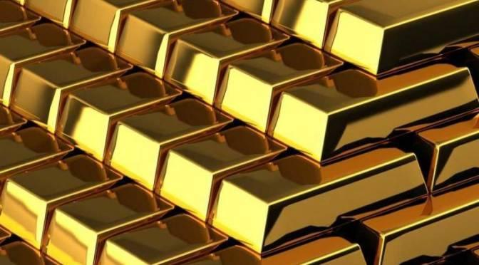 Precios del oro alcanzan mejor nivel en una semana