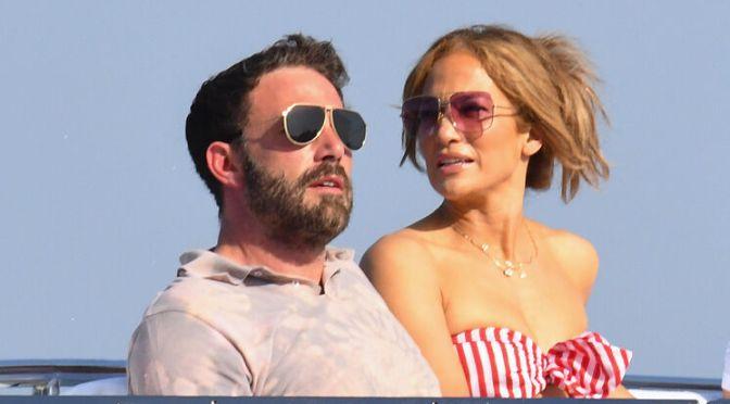 ¡Benifer ha llegado! Ben Affleck y Jennifer López llegan a Venecia para el festival de cine
