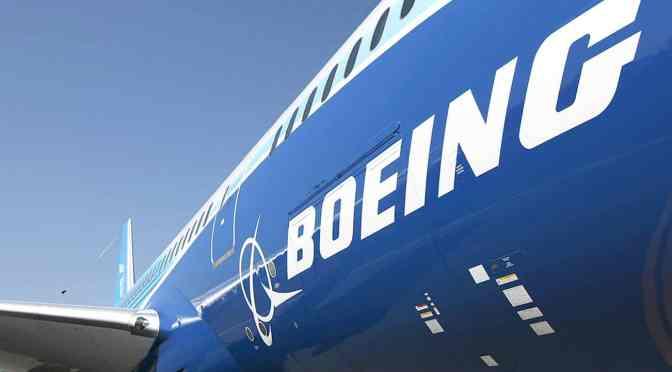 Boeing eleva la estimación de la demanda de aviones de China