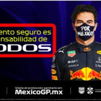 México GP implementa protocolo sanitario e invita a los asistentes a participar en una experiencia segura