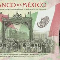 Banxico anuncia puesta en circulación del billete de 20 pesos conmemorativo del Bicentenario de la Independencia Nacional