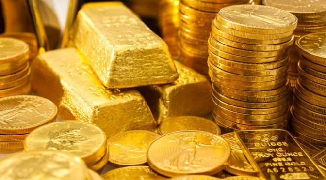 Precios del oro suben para rondar máximo de 2 meses