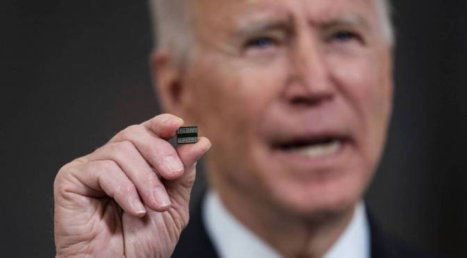 Casa Blanca busca abordar la crisis de chips de semiconductores