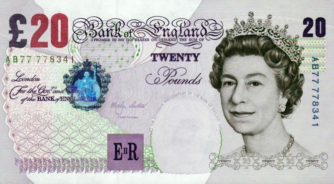 Libra esterlina cae de nueva cuenta frente al dólar