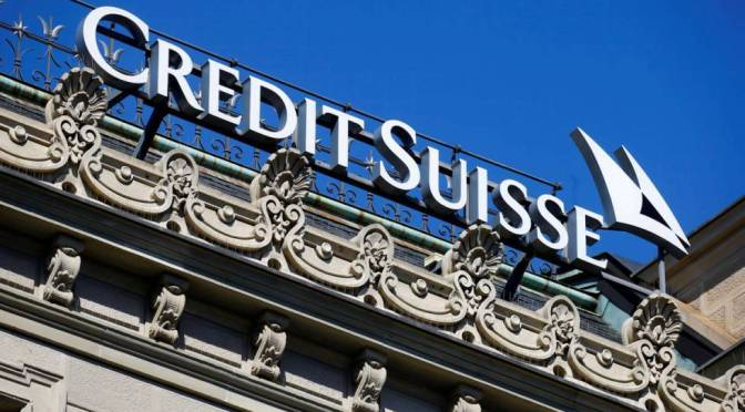 Credit Suisse busca recuperar los costos de recuperación de fondos financieros de la cadena de suministro