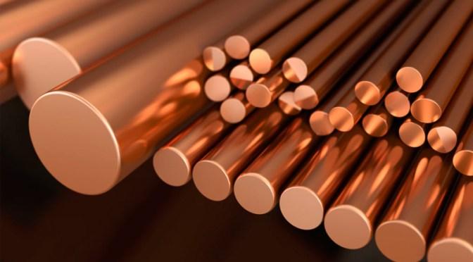 Precios del cobre se recuperan para evitar su peor caída semanal