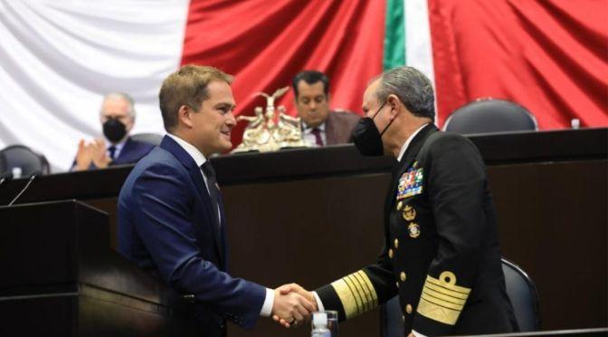 Diputado Javier López Casarín reconoce entrega y sacrificio de la Armada de México