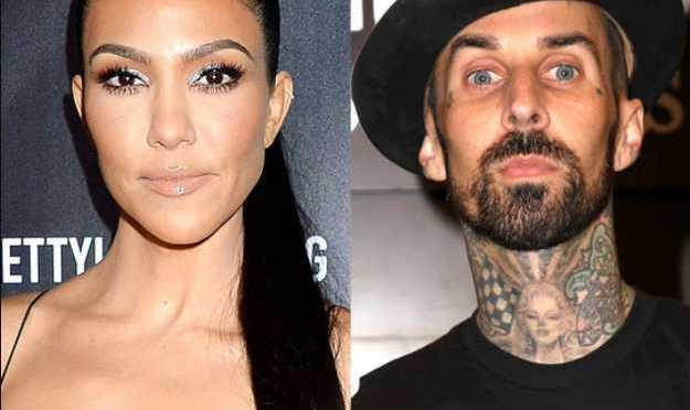 Kourtney Kardashian y el baterista Travis Barker anuncian su compromiso
