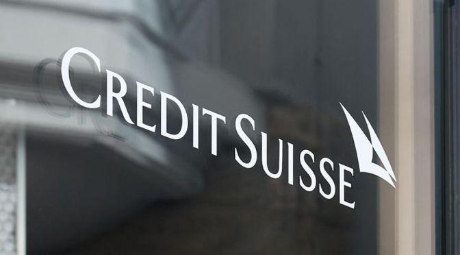Estrategia de Credit Suisse está en camino de establecerse este año: presidente