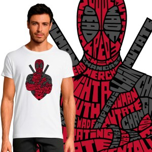 T-shirt Homme Deadpool By KalliGram
