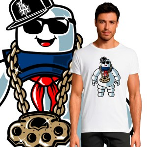 T-shirt Homme Pop Culture Bibendum Chill