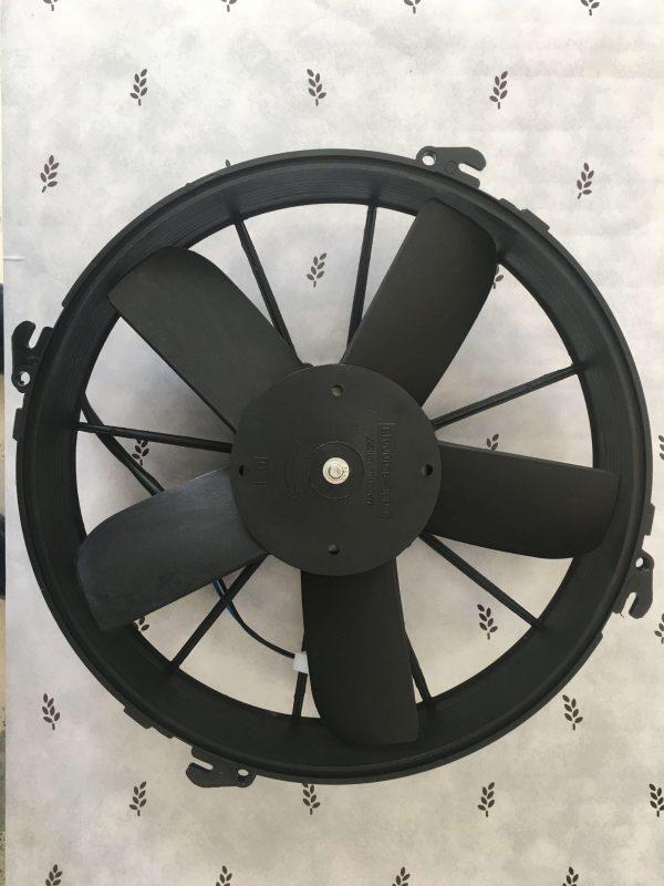 KORMAS 24V 12'' 5 Kanat Kalın Aksiyel Emici Fan Motoru