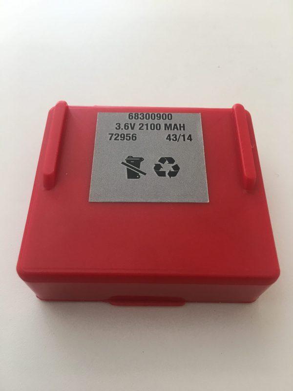 Hetronic Abitron Betonstar 2100 mah Kumanda Kontrol Bataryası 68300600