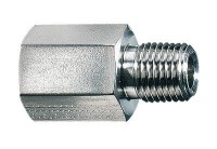 """Pipe fittings, NPT(F) x BSPT(M) adapter, BR, 1/2"""", 4600 ..."""