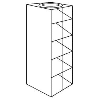 Argos Technologies PolarSafe® Vertical/Chest Aluminum Rack