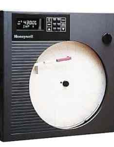 Honeywell also chart recorder with digital display channel from rh coleparmer