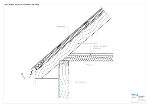 small resolution of cad file draped over roof battens