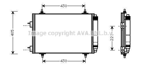 Condenseur / Radiateur de climatisation-PEUGEOT 307 SW 1.6
