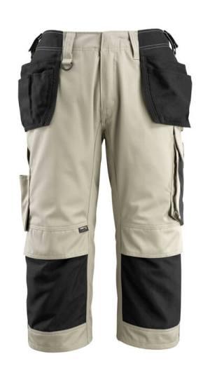 14349 Driekwart broek met knie- en spijkerzakken