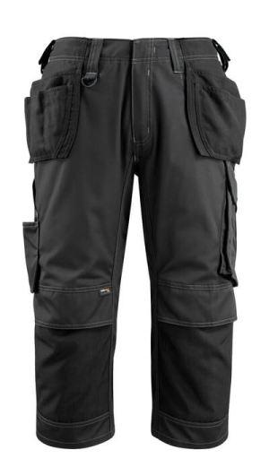 14449 Driekwart broek met knie- en spijkerzakken