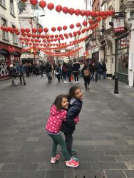 china town londres famille