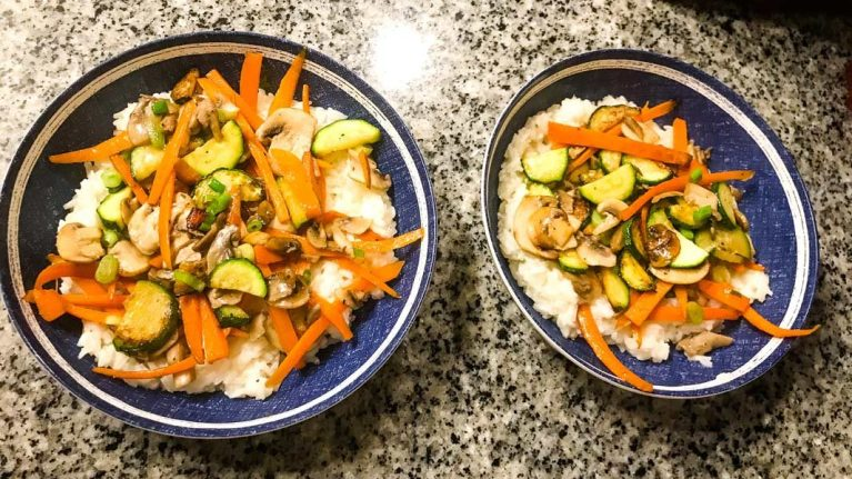 Korean Bibimbap - HelloFresh final product!