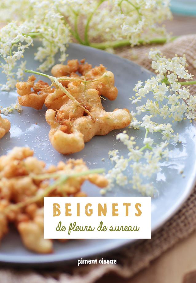 Recette Fleur De Sureau : recette, fleur, sureau, Beignets, Fleurs, Sureau, PIMENT, OISEAU