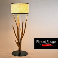 A Touch of Nature at Home with Tree Branch Floor Lamp