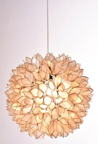 Shell Petals Ball | Piment Rouge Custom Lighting Project