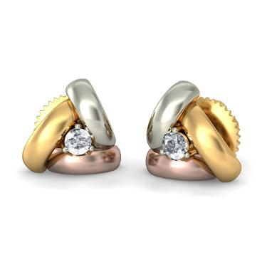 Gold Diamond Earrings Designs