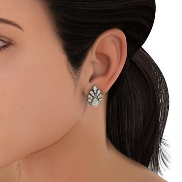 diamond stud earrings india