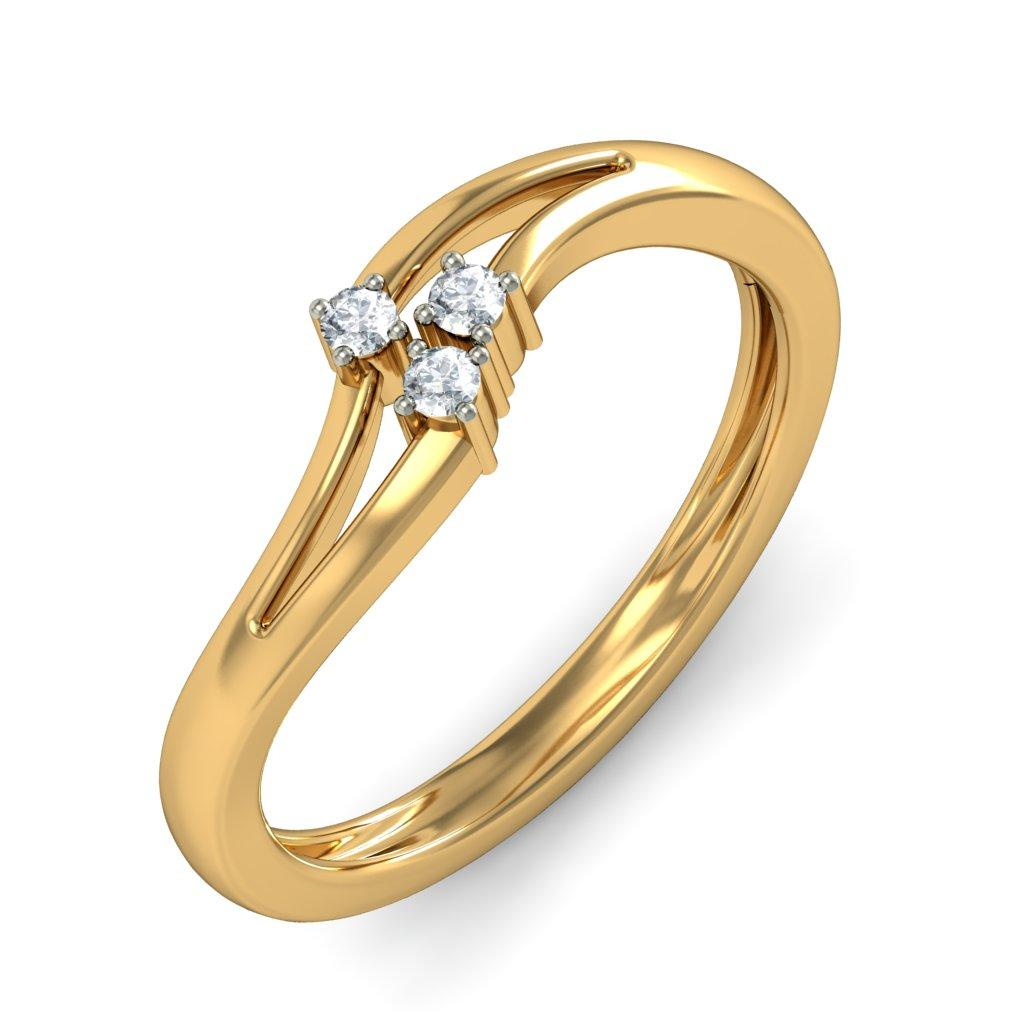 Get gold rings for women with reasonable price