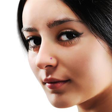 Pink Nose Pins Online