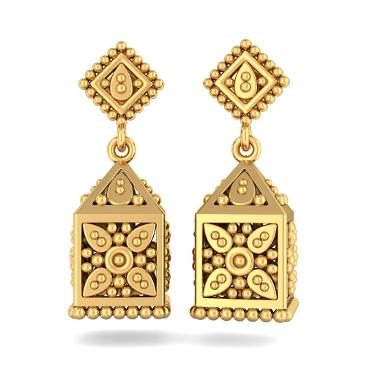 How To Buy Gold Jhumka Earrings And Check Out Latest Designs Gold