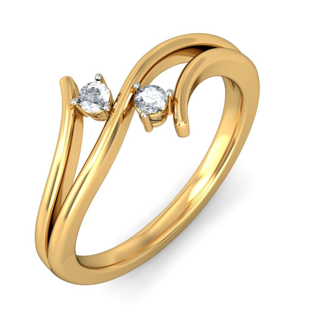 Get Designer Gold Rings for Women for Different Occasions ...