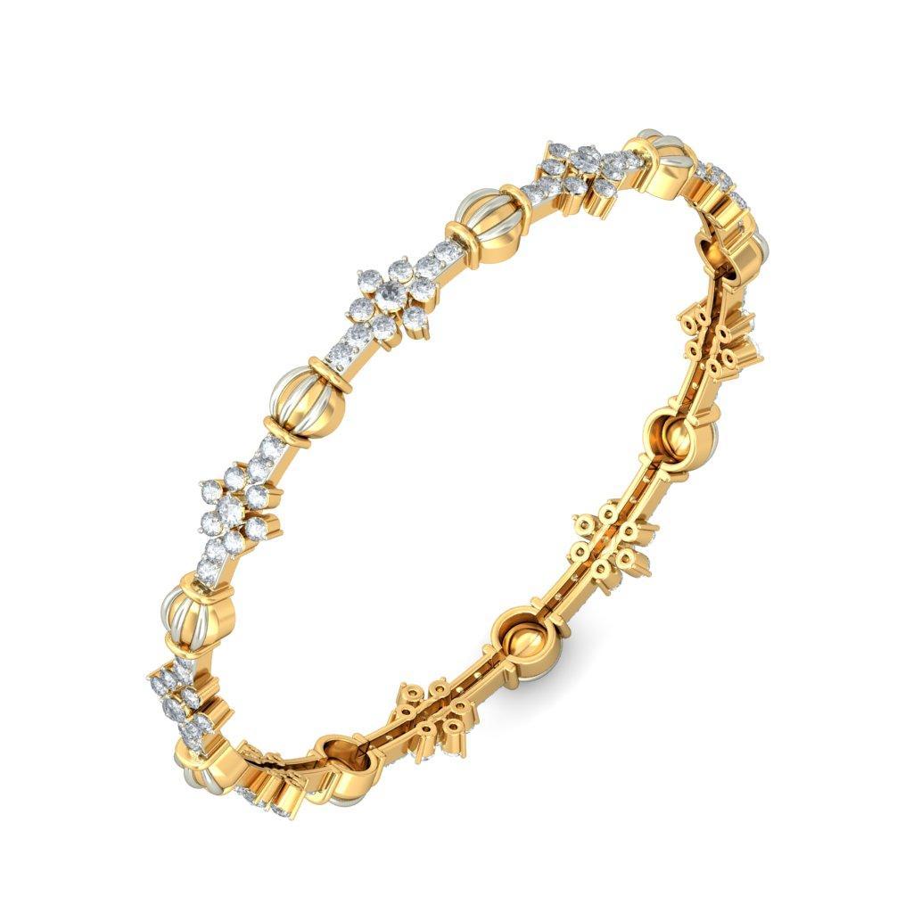 gold jewellery diamond bangles online