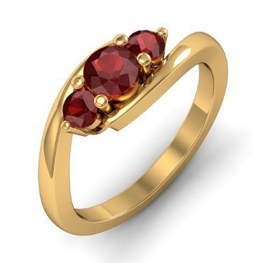 Gold designer rings