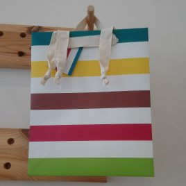 Stripes Large Gift Bag