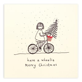 Wheelie Pencil Shaving Card